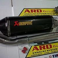 harga Knalpot Akra Carbon Buat R15,r25,new Vixion,byson,scorpio Z (pnp) Tokopedia.com
