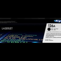 hp Black Laserjet Toner Cartridge CE 310 Black (126A) Original