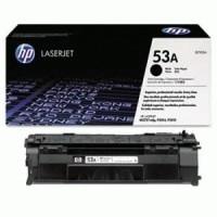 hp Black Laserjet Toner Cartridge Q7553A (53A) Original