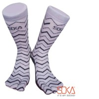 Kaos Kaki Soka Essentials Tribal Abu Muda