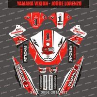 harga Stiker Striping Yamaha-vixion-lorenzo Spec B Tokopedia.com