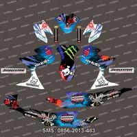 Stiker Stripng Suzuki-Satria-FU-Hoonigan-blue Spec B