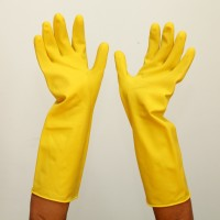 Sarung Tangan LEOPARD HouseHold Latex Gloves 15'' LPLG 0315