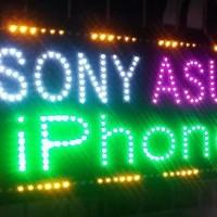 Handphone LED Tulisan