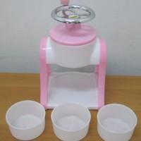 Alat Serutan Es batu - Mesin Pembuat Es Serut Mini - Ice Shaver Manual