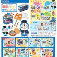Re-ment Doraemon Densha Ni Notte Dokomademo