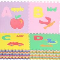 Puzzle Huruf A-Z dan Pengenalan Gambar Evamat (Karpet Evamat)