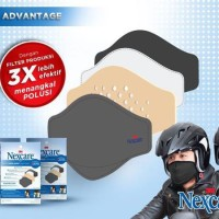 NEW Masker Motor Nexcare/ Masker Bebas Polusi/ Mas