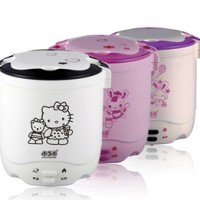 mini rice cooker hello kitty hk slow warmer hk 2 susun kity nasi bubur