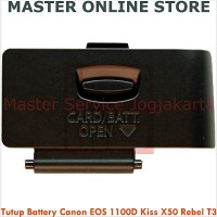 harga Tutup Battery Camera DSLR Canon EOS 1100D Rebel T3 Kiss X50 Murah Tokopedia.com