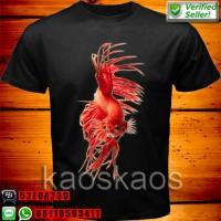 harga Kaos Ikan Betta Cupang Merah Ukuran Xxl Tokopedia.com
