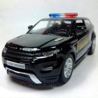 miniatur mobil polisi keren diecast range rover evoque tokomoro