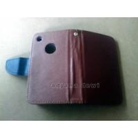 harga IPHONE 3G 3GS WALLET BOOK FLIP CASE COKLAT Tokopedia.com