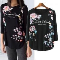 Kaos/T Shirt Import, Casual, Black,Soft Cotton, Lookbook Style Murah