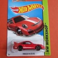 Hot Wheels PORSCHE 911 GT3 RS merah
