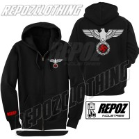harga jaket hoodie zipper nazi nsdap / elang terbaru terlaris termurah Tokopedia.com