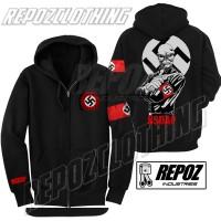 harga jaket hoodie zipper nazi nsdap / super skull + strip terbaru termurah Tokopedia.com