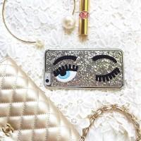 Chiara Ferragni Silver Case for Iphone 5/5s/6/6+