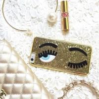 Chiara Ferragni Gold Case for Iphone 5/5s/6/6+