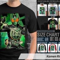 Kaos Kamen Rider 18 OOO / OZU