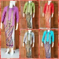 baju setelan/busana muslim/baju gamis/gaun batik/batik kantor