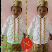 baju koko anak 3in1