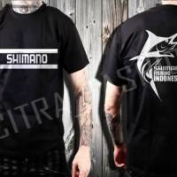 harga Kaos Mancing Mania Shimano Fishing Indonesia Model 1 Tokopedia.com
