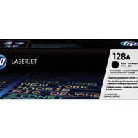 hp Black Laserjet Toner Cartridge CE 320 A Black (128A) Original