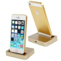 harga Apple Charging Dock 8 Pin for iPhone 5/5s/5c/iPod touch 5 - Golden Tokopedia.com