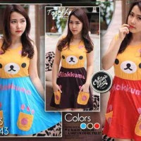Mini Dress online Murah Blogspot Dress Rilakkuma Two Pockets