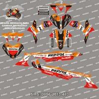 harga Stiker Striping Honda-supra-x-125-repsol Spec A Tokopedia.com