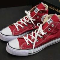 sepatu converse allstar high merah marun