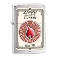 Zippo Since 1932 Brushed Chrome