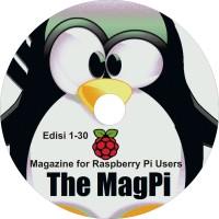 CD Majalah Digital - Magazine for Raspberry Pi Users Edisi 1 - 30