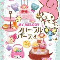 harga Re-ment Sanrio Miniature My Melody Floral Party Set Tokopedia.com