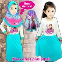 Baju Muslim Anak Little Pineaple (Hijau Putih)