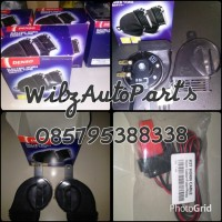 KLAKSON DENSO KEONG WATERPROOF WITH RELAY KIT HORN CABLE SET ORIGINAL