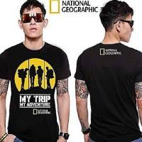 Tshirt/T shirt/Kaos NATIONAL GEOGRAPHIC MY TRIP