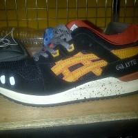 Sepatu Asics Gel Lyte III Black Tan (addict3D)