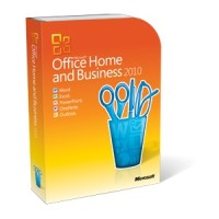 Microsoft Office 2010 Home & Business FPP (2 user)