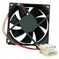 Fan Casing PC 12cm Black