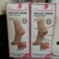 Jual Perawatan Kulit Kaki / PANDANSARI KVK Foot Cream Murah