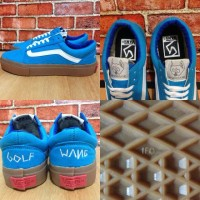 sepatu vans GOLF WANG biru - ckt