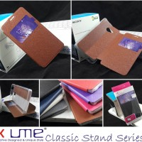 Ume Classic Flip View Soft Cover Casing Case Acer Liquid Z220