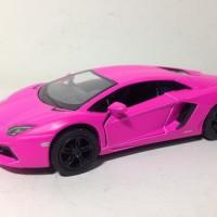Diecast Lamborghini Aventador Pink Matte
