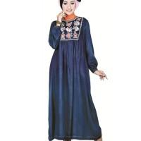 harga Gamis Murah Bahan Jeans Tokopedia.com