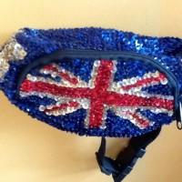 harga Tas Pinggang Burci Bendera England (sequin London Flag Waist Bag) Tokopedia.com