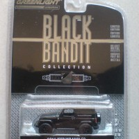 Greenlight 1:64 Jeep Wrangler 2014 Black Bandit