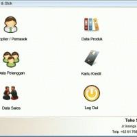 DVD Software Toko + Kasir + Penjualan Stok Barang V.6 - ORIGINAL