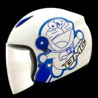 harga Helm Doraemon Bmc White Blue Tokopedia.com